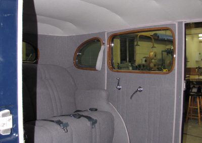 1937 Packard Insterior Coming Together