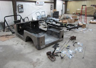 1987 CJ7 Jeep Arrival in Pieces 2