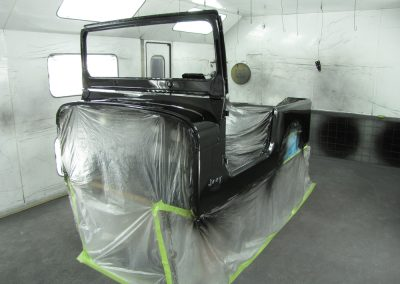 1987 CJ7 Jeep Body Painted