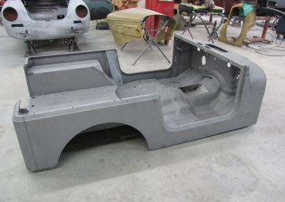 1987 CJ7 Jeep Body media blasted