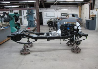 1987 CJ7 Jeep Chassis ready for body