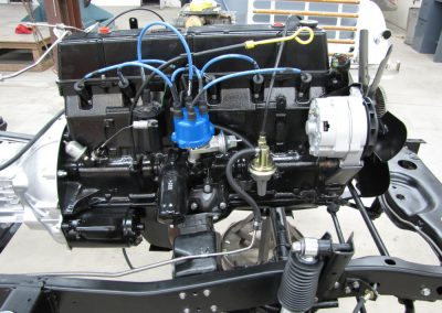 1987 CJ7 Jeep Engine refinished
