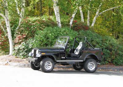 1987 CJ7 Jeep Finished 2