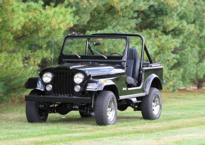 1987 CJ7 Jeep Finished